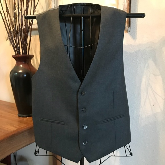 Other - Men's Black Dress Vest